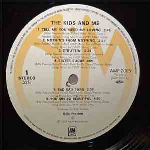 Billy Preston - The Kids & Me mp3 album