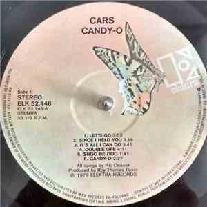 The Cars - Candy-O mp3 album