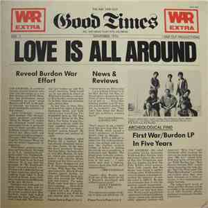 War Featuring Eric Burdon - Love Is All Around mp3 album