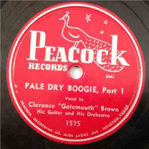 "Clarence ""Gatemouth"" Brown - Pale Dry Boogie mp3 album"