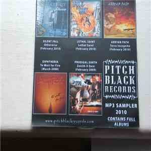 Various - Pitch Black Records MP3 Sampler 2010 mp3 album
