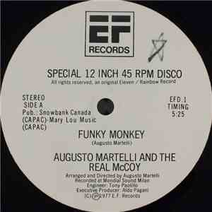 Augusto Martelli And The Real McCoy - Funky Monkey / Blame The Record mp3 album